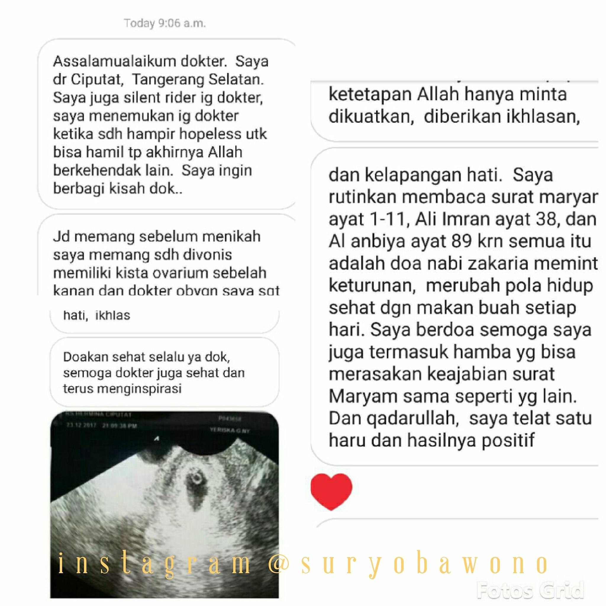 Kisah Kista Dan Surat 191 11 Dr Suryo Spog Kesehatan
