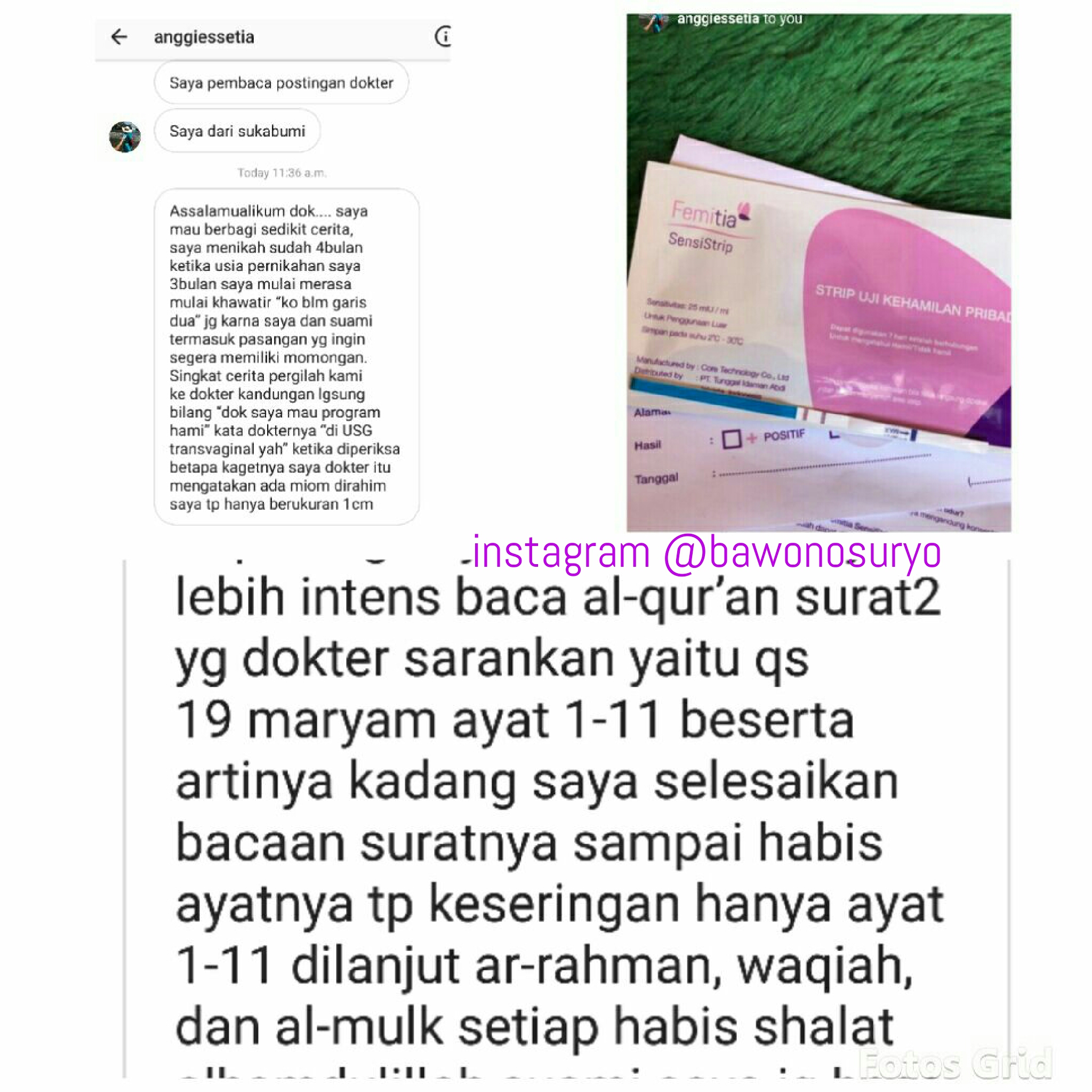 Kisah Surat Maryam Kali Ini Sukabumi Dr Suryo Spog